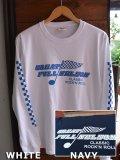 FULLNELSON CHECKER FLAG L/S tee フルネルソンチェッカーフラッグ長袖Tシャツ