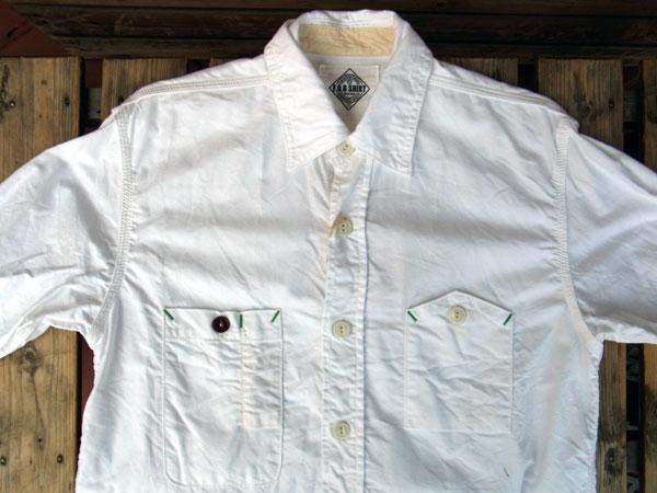 画像3: FOB FACTORY エフオービーファクトリー長袖オックスフォードシャツ WHITE