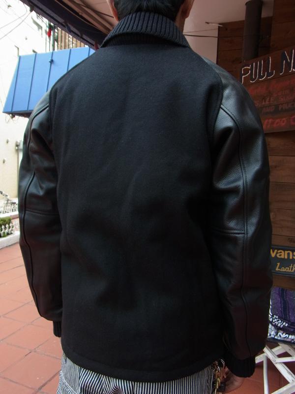 画像2: FULLNELSON別注 Skookum スクーカム キルティング ジップ ファラオコート ALL BLACK