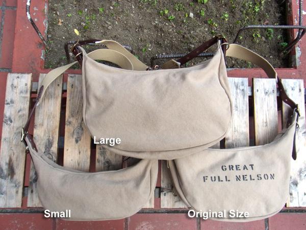 画像2: FULLNELSON フルネルソン別注 Bag Blow バナナ型 ショルダーバッグ Small