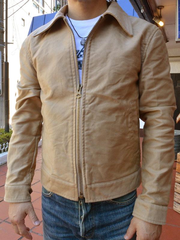 画像1: FULLNELSON ORIGINAL JUNGLE CLOTH DRIZZLER JACKETフルネルソン ジャングルクロスドリズラージャケット