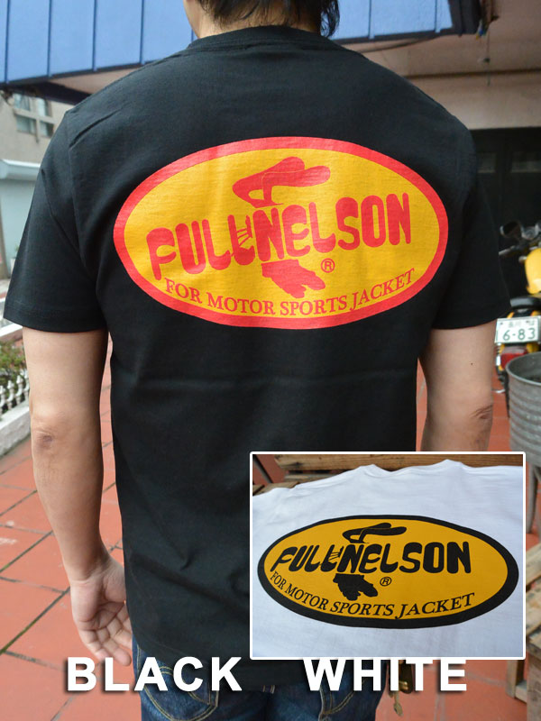 画像1: FULLNELSONフルネルソン オリジナルカンパニーロゴTシャツ