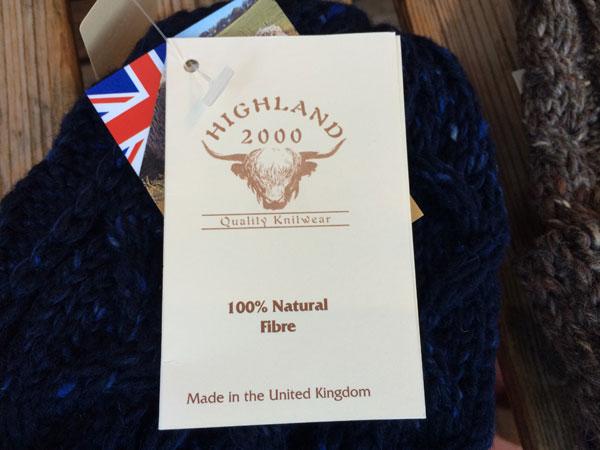 画像4: HIGHLAND 2000 CABLE BOB CAP ハイランド2000 ケーブル ニットキャップ MIX WOOL