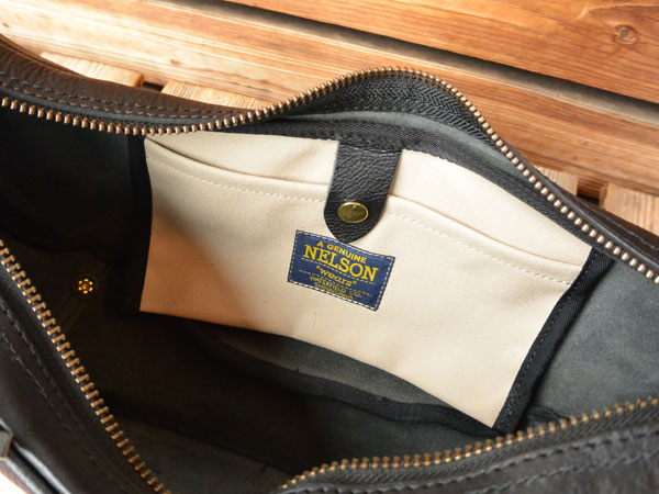 画像3: FULLNELSON Leather Banana Bag Small フルネルソン別注 BagBlow レザーバナナショルダーバッグスモール
