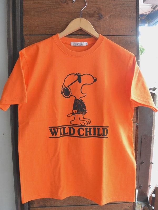 画像3: 予約受付中 4月上旬入荷予定FULLNELSON×PEANUTS Tee フルネルソン×ピーナッツ スヌーピーTシャツ WILD CHILD