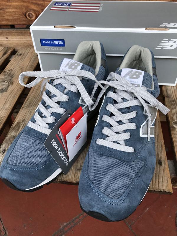画像1: Made in USA  ニューバランススエード フェードブルーNEW BALANCE M996FADE BLUE