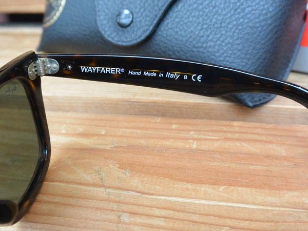 画像2: Ray-Ban ORIGINAL WAYFARER CLASSIC レイバン ウェイファーラー RB2140F トータス