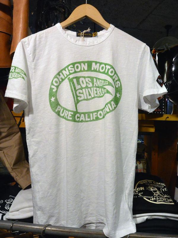 画像1:  Johnson Motors'Inc PURE KGS/S tee ジョンソンモータース半袖TシャツOPTIC WHITE/KG