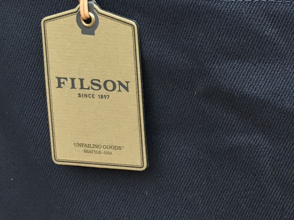 画像5: FILSON Tote Bag With Zipper フィルソン ジッパー付きトートバッグ