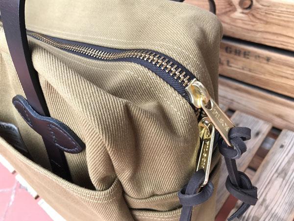 画像2: FILSON Tote Bag With Zipper フィルソン ジッパー付きトートバッグ