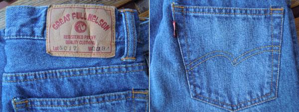 画像3: FULLNELSON フルネルソン オリジナルブーツカット Used Wash 5017D