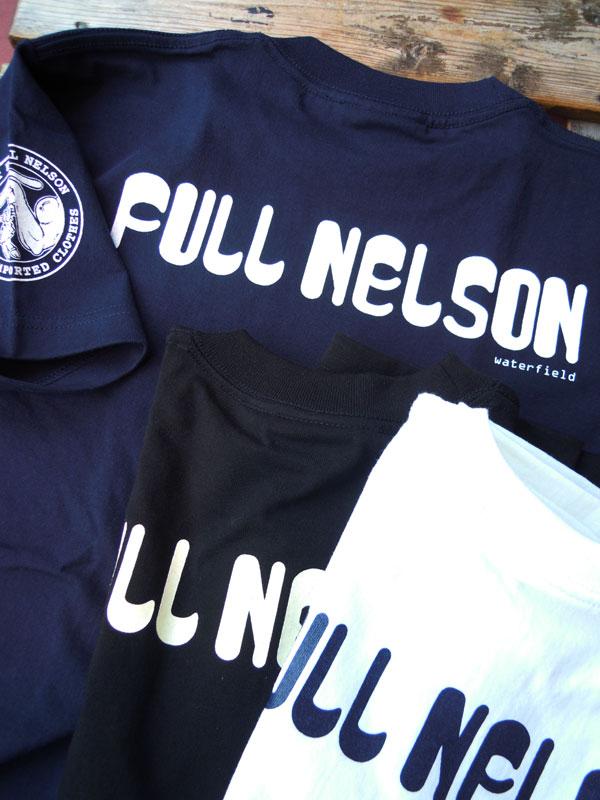 画像1: FULLNELSON LOGO フルネルソン オリジナル ロゴ Tシャツ