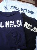 FULLNELSONフルネルソン ロゴL/S 長袖Tシャツ