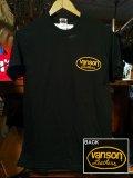 VANSON S/S Tee Basic Oval Logo バンソン 半袖Tシャツ ベーシックオーバルロゴ USライン