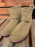 ラッセルモカシン RUSSELL MOCCASIN /ノックアバウト KNOCK-A-BOUT WITH BELTED LARAMIE SUEDE BEIGE
