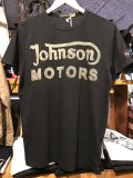 Johnson Motors'Inc CLASSIC38 S/S tee ジョンソンモータース半袖TシャツOILED BLACK