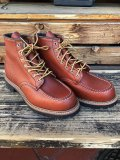 "RED WING Classic Work / 6"" Moc-toe ビブラムラグソール 8175"