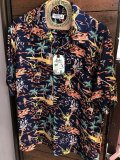 "SUN SURF サンサーフ アロハシャツ S/S HAWAIIAN SHIRT ""TORCH FISHERMAN"""