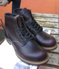 RED WING レッドウイング BECKMAN ROUND BOOTS(ブラックチェリー)