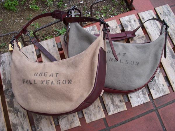 画像1: FULLNELSON フルネルソン別注 Bag Blow バナナ型 ショルダーバッグ 「ブルース」