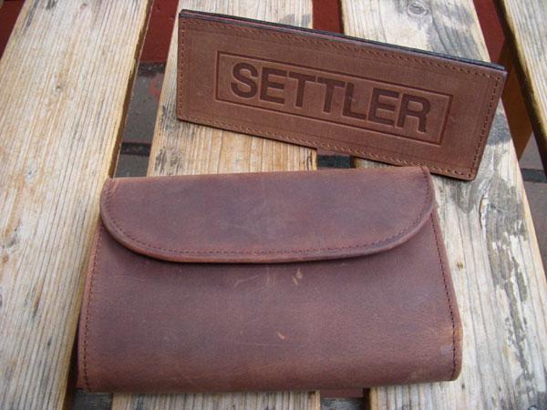 画像1: SETTLER セトラー 三つ折りウォレット 3FOLD PURSE