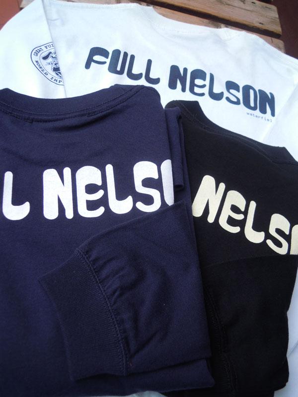 画像1: FULLNELSONフルネルソン ロゴL/S 長袖Tシャツ