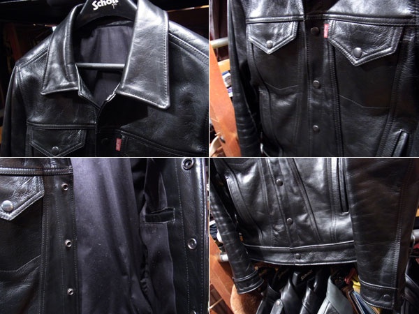画像3: FULLNELSON ORIGINAL 3rd type LEATHER JACKET
