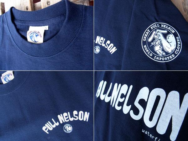 画像3: FULLNELSON LOGO フルネルソン オリジナル ロゴ Tシャツ