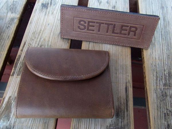 画像1: SETTLER セトラー 三つ折りウォレット Small 3FOLD PURSE Wallet