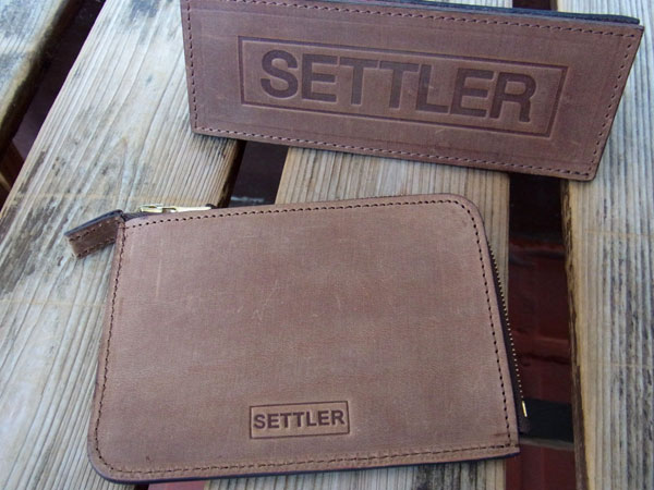 画像1: SETTLER セトラー ZIP WALLET