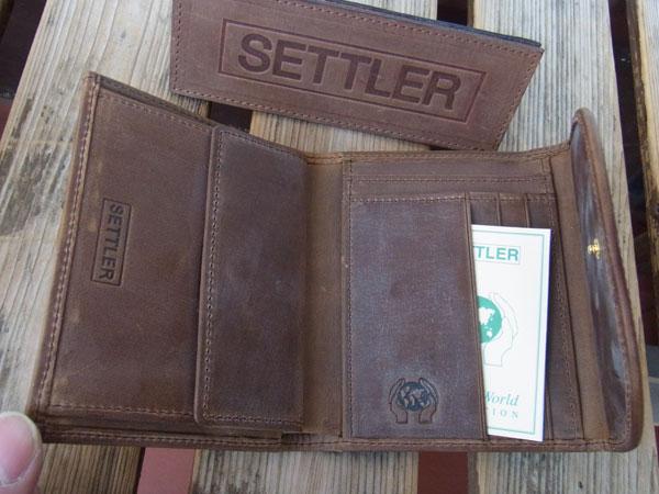 画像2: SETTLER セトラー 三つ折りウォレット Small 3FOLD PURSE Wallet