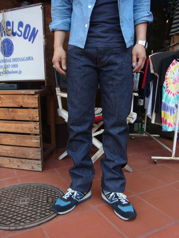 画像2: FULLCOUNT フルカウント 1108 STRAIGHT LEGS(RIGID&ONEWASH ) INDIGO BLUE