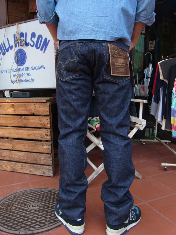 画像3: FULLCOUNT フルカウント 1108 STRAIGHT LEGS(RIGID&ONEWASH ) INDIGO BLUE