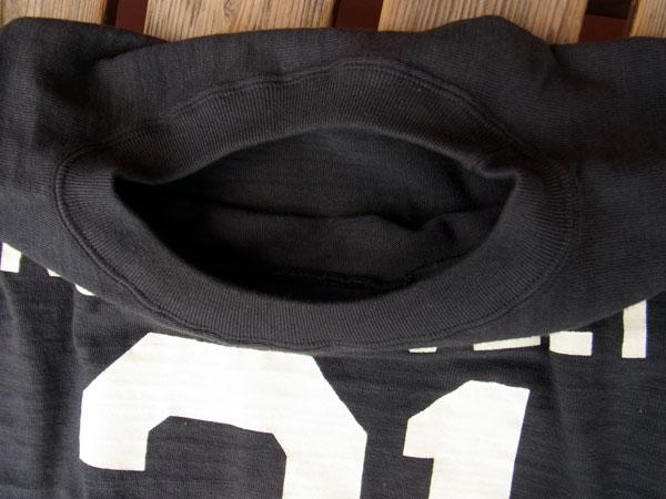 画像5: WAREHOUSE FOOTBALL TEE ウエアハウス 7分袖フットボールTシャツ ROOSEVELT BLACK