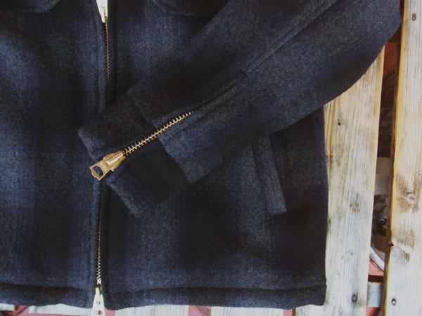 画像4: FULLNELSONフルネルソンオリジナル ウールジャケットカリフォルニア「JKT California」 裏ボア仕様