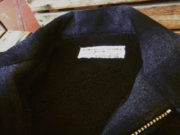 画像5: FULLNELSONフルネルソンオリジナル ウールジャケットカリフォルニア「JKT California」 裏ボア仕様