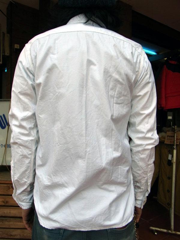 画像2: FOB FACTORY エフオービーファクトリー長袖オックスフォードシャツ WHITE