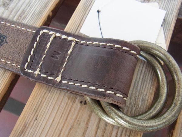 画像4: OPUS LEATHER RING BELT オーパス ホーウィン社オイルドレザーリングベルト
