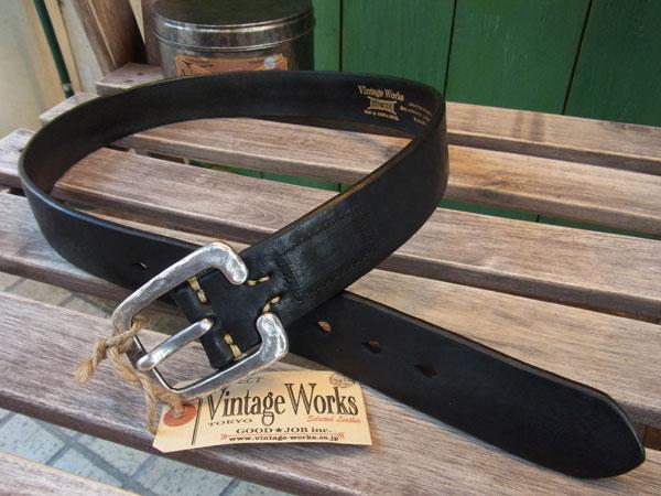画像3: VINTAGE WORKS LEATHER BELT ビンテージワークス レザーベルト DH5536