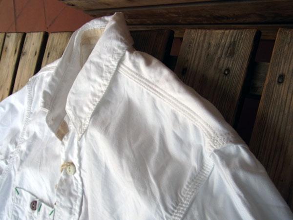 画像5: FOB FACTORY エフオービーファクトリー長袖オックスフォードシャツ WHITE
