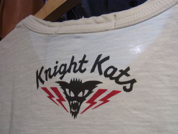 画像5: Johnson Motors'Inc KNIGHT KATS S/S tee ジョンソンモータース半袖Tシャツ DIRTY WHITE