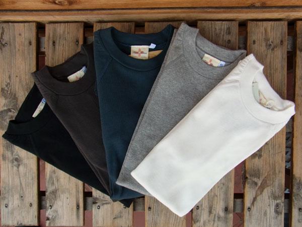 画像1: Two Moon raglan sleeve rib stitch T-SHIRTS トゥームーン ラグラン・スリーブ リブTシャツ 93034