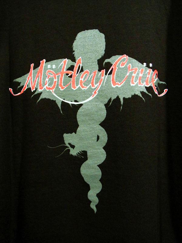 画像4: MOTLEY CRUE モトリー・クルー プリントTシャツ