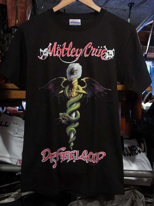 画像1: MOTLEY CRUE モトリー・クルー プリントTシャツ