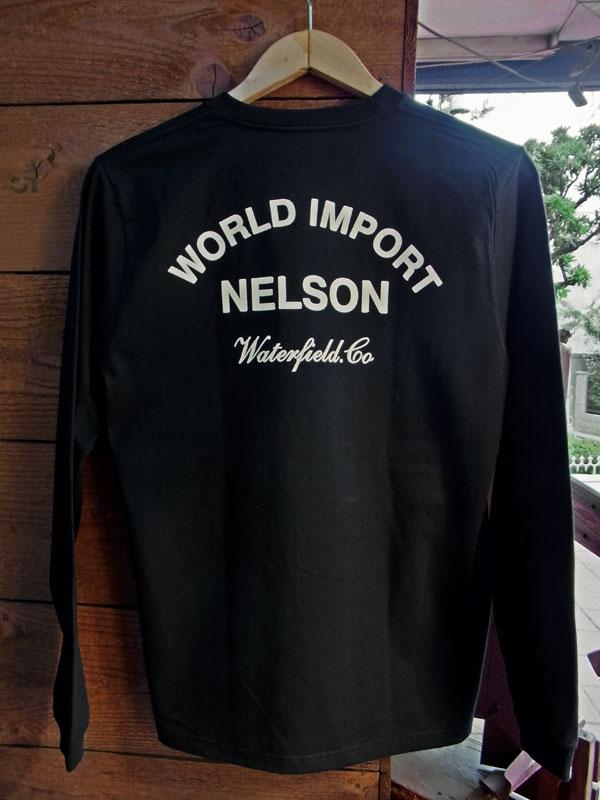 画像3: FULLNELSON OIL TANK NELSON LOGO  L/S Tee フルネルソン オイルタンク ネルソンロゴ 長袖Tシャツ