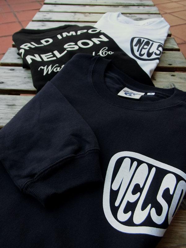 画像1: FULLNELSON OIL TANK NELSON LOGO  L/S Tee フルネルソン オイルタンク ネルソンロゴ 長袖Tシャツ
