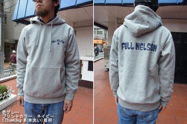 画像2:  FULLNELSON LOGO PULL PARKAフルネルソン オリジナルロゴプルパーカー