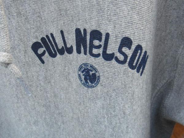 画像4:  FULLNELSON LOGO PULL PARKAフルネルソン オリジナルロゴプルパーカー