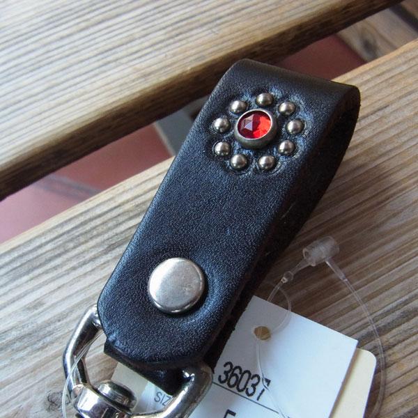 画像2: HTC FLOWER LEATHER  KEY HOLDER フラワーレザーキーホルダー