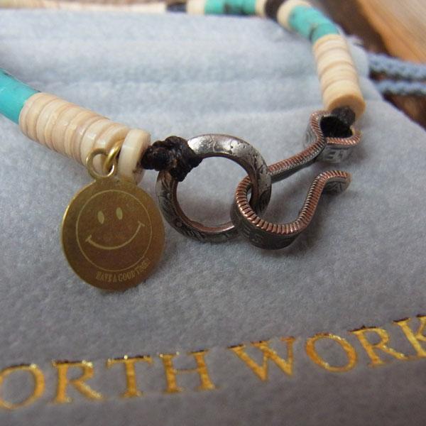 画像5: North Works Nickel 10¢ Hook Heishi Bracelet ノースワークスニッケル10セントフックヘイシブレスレット